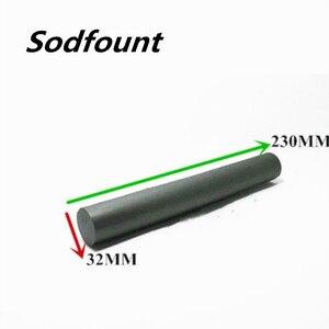 Image 1 - Gratis Verzending 1/PCS Zachte magnetische ferriet Ferriet mangaan zink grote magnetische bar 32*230 MM niet  magnetische