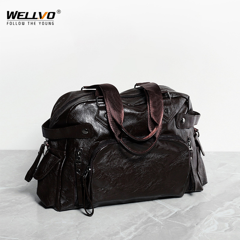 Business Travel Bag Men Shoulder Bag High Quality Zipper PU Leather Mens Office Work Bags Tote Handbags Weekender 2019 XA254ZCBusiness Travel Bag Men Shoulder Bag High Quality Zipper PU Leather Mens Office Work Bags Tote Handbags Weekender 2019 XA254ZC