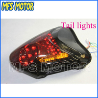 Freeshipping Motorcycle Parts LED Tail Brake Light Turn Signals For Suzuzki Hayabusa GSX1300R 2008 2009 2010