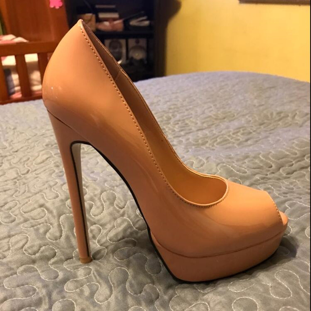 Ladies Sexy Open Toe Shoes
