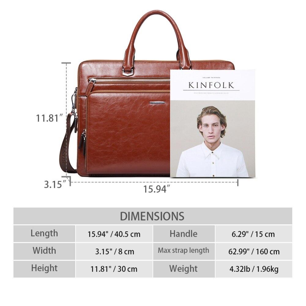c776905b80dc US $93.5 50% OFF|BOSTANTEN Women Man Genuine Leather Briefcase Tote  Business Vintage Man Handbag 15.6