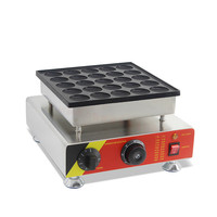 Electric mini muffin maker commercial 25 hole mini muffin maker waffle oven muffin electromechanical muffin stall