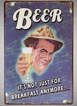 1 pc Beer Drink Bar cocktail tin Plates Signs wall plaques Decoration vintage Dropshipping Poster metal