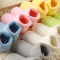 5pairs of a pack Soft Cotton Socks 0-2Y NewbornWinter Warm Toddler Kids Baby Girls Boys Comfortable Prevent slippery