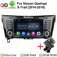 HD 1024X600 Octa Core Android 6 0 1 Car DVD Player For Nissan X Trail X