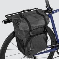 Bike Bag Pannier Bicycle Cycling Trunk Pack MTB Road Bike Saddle Rack Bag Bike Cargo Carrier Bag Bike Accessories