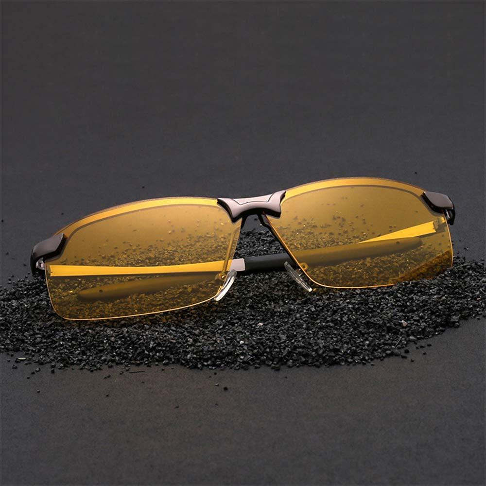 Fashion Glasses Driving Sunglasses Unisex Night Vision Polarized Glasses UV400 Polarized Eyewear Night Vision Goggles Men's glas
