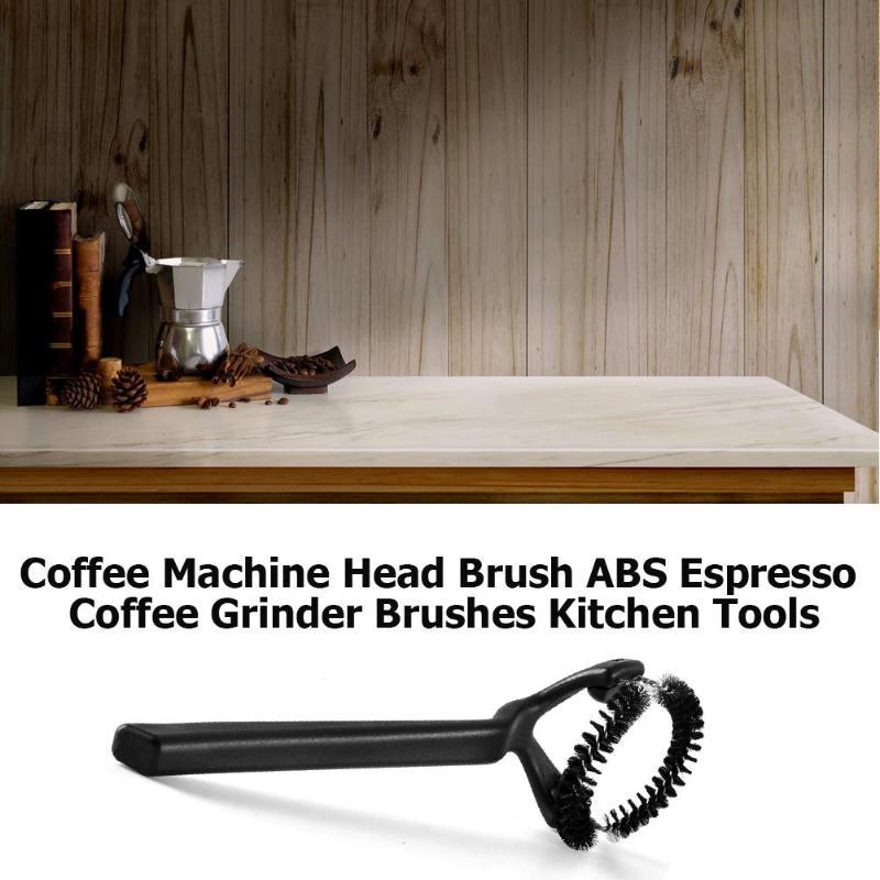 Кофемашина головка щетки ABS кофемолка эспрессо щетки Кофеварка инструменты для уборки на кухне