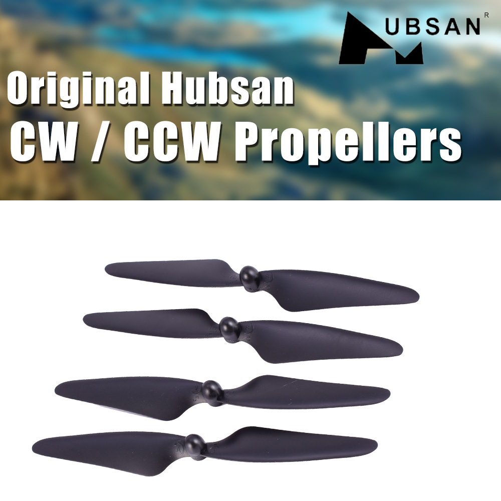 4pcs <font><b>Hubsan</b></font> H501S Propellers Blades CW CCW compatible with <font><b>H501A</b></font> H501C H501M RC Drone Quadcopter Universal Blade image