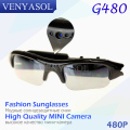 VENYASOL Mini Camera DV DVR Sunglasses Audio Video Action Sport Camera Recorder Camcorder for Driving Outdoor