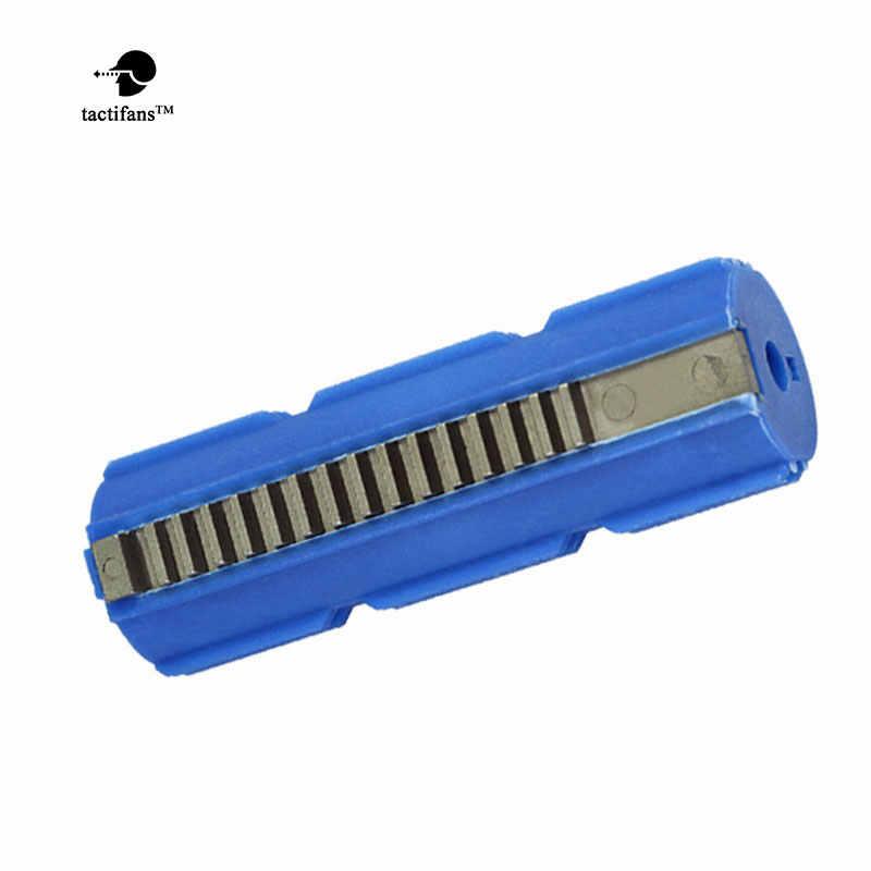 Tactifans SHS армированный углерода полный Сталь 15 зубчатый поршень для страйкбола AEG M4 AK G36 MP5 коробка передач Ver 2/3 отлив Страйкбольное ружье