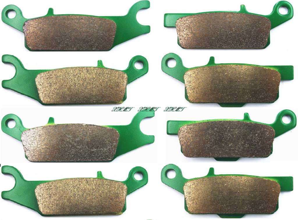 Brake Shoe Pads Set For Yamaha Atv Yfm700 Yfm 700 Grizzly 2008 2009 2010 2011 2012 2013 2014 2015 / Yfm550 Yfm 550 2008