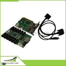 Sistema de controle Linsn 801/802 1 cartão enviando sd801D/sd802D + 1 receber rv801D cartão/RV908D + hub75 cartão + cabos dvi, usb cabos