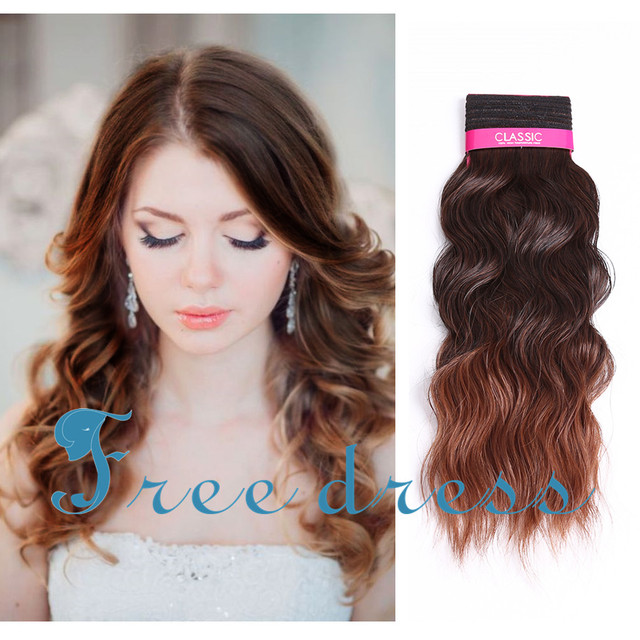 High Quality Classic Indian Wavy 16inch Loose Deep Wavy Curly