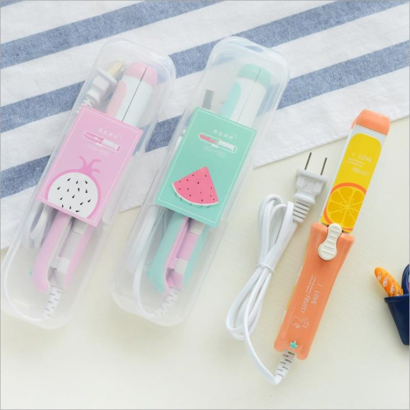 Mini Hair Curler Portable Hair Curling Irons Travel Small Curlers Cute Hair Curling Iron Lady Small Cartoon Hair Styling Tools