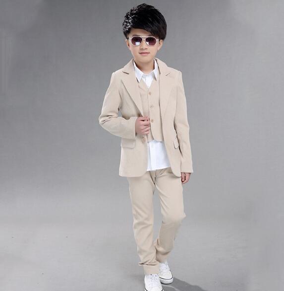 10 pcs wholesale Boys wedding suit Kids Tuxedos Page boy ...