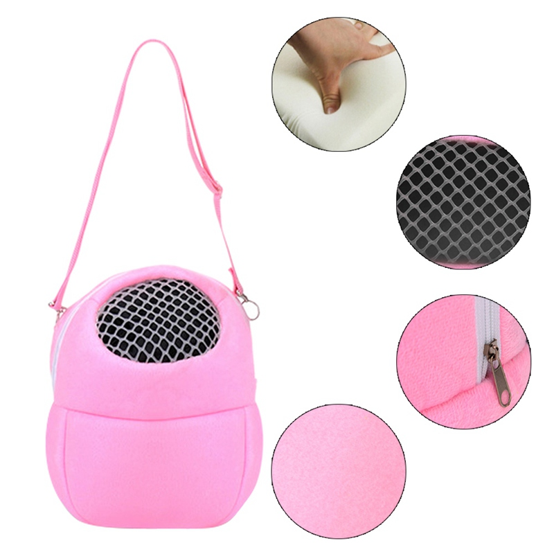 Portable Small Animals Carrier Warm Sleeping Travel Hanging Bag For Pets Rat Hamster Hedgehog Chinchilla Ferret Product Supplies #5