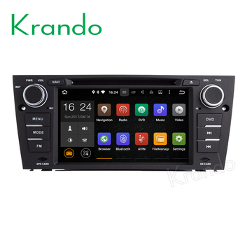 Krando 7 Android 10.0 car navigation multimedia system for BMW E90 E91 E92 E93 2005-2012 audio radio gps dvd player WIFI 3G image
