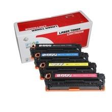 Совместимый тонер-картридж CB540A CB540 540A 540 CB541A CB542A CB543A 125A для hp Цвет LaserJet CP1215 CP1515n CP1518ni CM1312