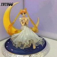 YNYNOO Anime Sailor Moon Usagi Tsukino Figuarts Zéro Princesse Serenity Action PVC Poupée Collection Modèle Jouet Cadeaux Cosplay