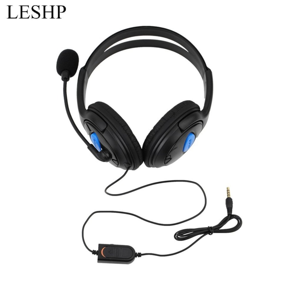 3.5mm Wired Gaming Headphone Gaming Headset Earphone With Microphone Mic Earphone for PS4 Sony PlayStation 4 /PC Computer Головная гарнитура