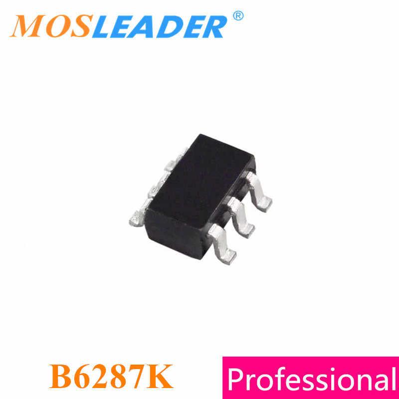 Mosleader B6287K SOT23-6 500 قطعة B6287 SOT23 الأصلي عالية الجودة