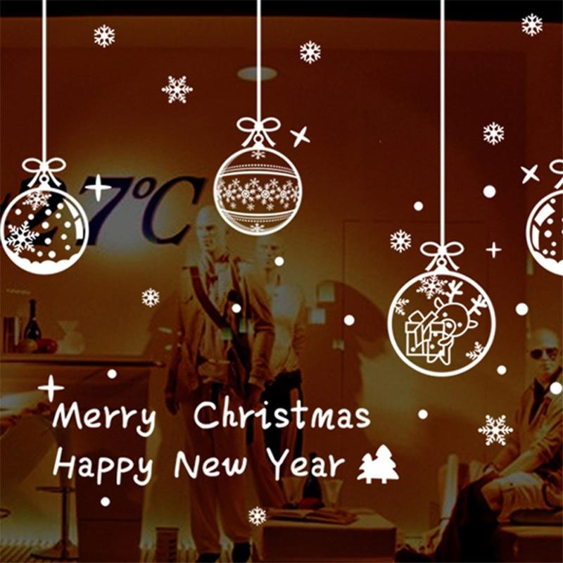 Compra copo de nieve de la decoraci n de las ventanas for Adornos navidad online