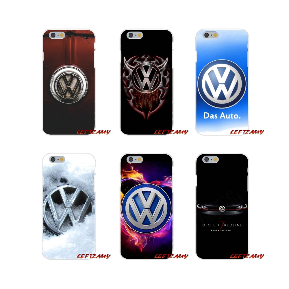 Accessories Phone Shell Covers car Volkswagen vw logo For Samsung Galaxy S3 S4 S5 MINI S6 S7 edge S8 S9 Plus Note 2 3 4 5 8