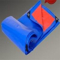 4*8 м Открытый водонепроницаемый colth дождевик утолщенный солнцезащитный тент паруса и сетки корпуса