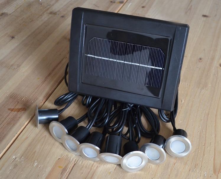 aeProduct.getSubject() & Outdoor Lighting Solar Stainless Underground LED Brick Deck Light ...