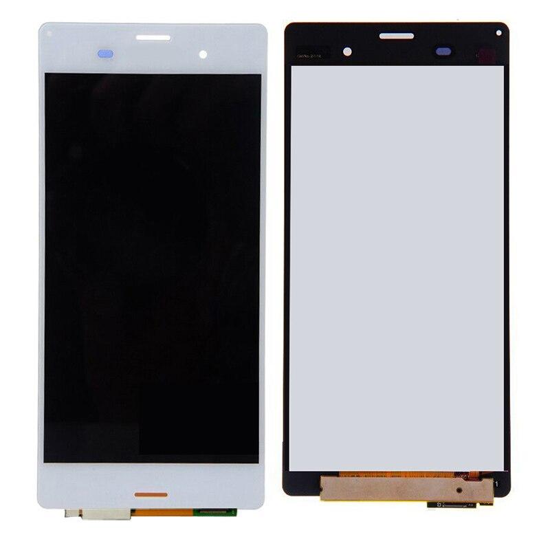 Запчасти для телефонов ЖК-дисплей Дисплей touch Стекло Экран планшета для Sony Xperia Z3 D6603 D6643 D6653 ЖК-дисплей Дисплей Замена