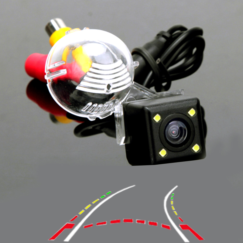 Dynamic Trajectory Car Parking Camera For Sony Ccd Suzuki