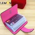 2017 Novos Cartões de Crédito Titular Jacaré Sólida Mulheres de Negócios Saco de Viagem Sacos de Couro Genuíno Das Mulheres Do Cartão de Crédito Cartão de Nome A1159