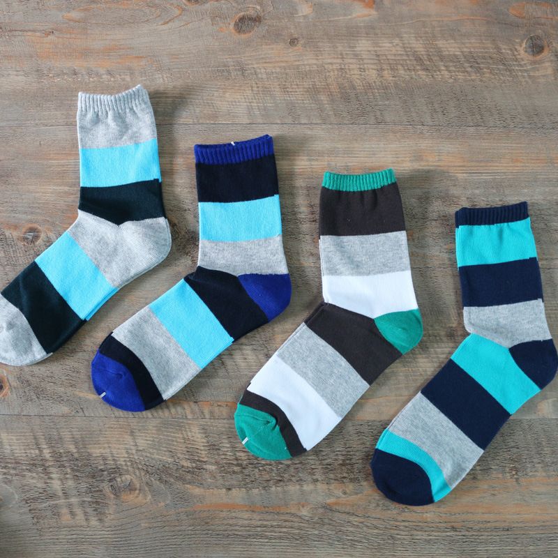 Wholesale 60 Pairs Rainbow Striped Socks General Warm Stitching Pattern Antiskid Invisible Casual Socks Unisex Funny Party Socks