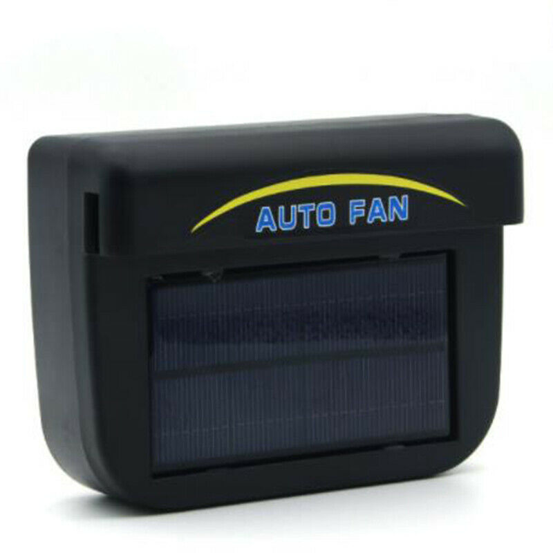 Solar Powered Car Window Air Vent Ventilator Mini Air Conditioner Cool Fan Air-conditioning Installation For RV Caravan Van