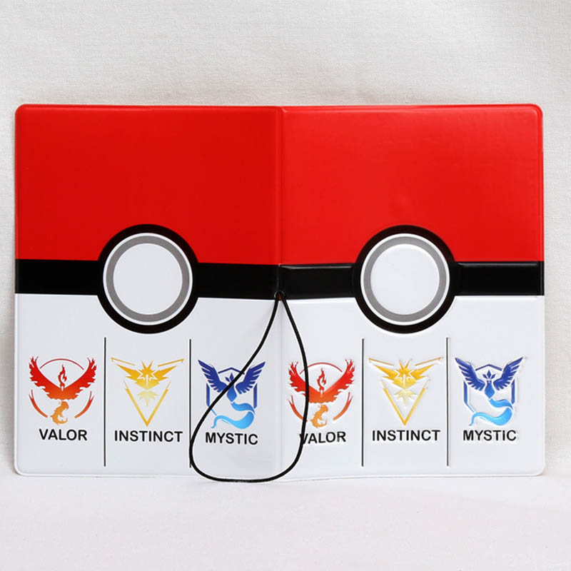 Coin Purses & Holders Luggage & Bags Cartoon Pokemon Go Pvc Leather Passport Holder Cover Identity Id Credit Card Cover Document Folder Travel Ticket 14*9.6cm