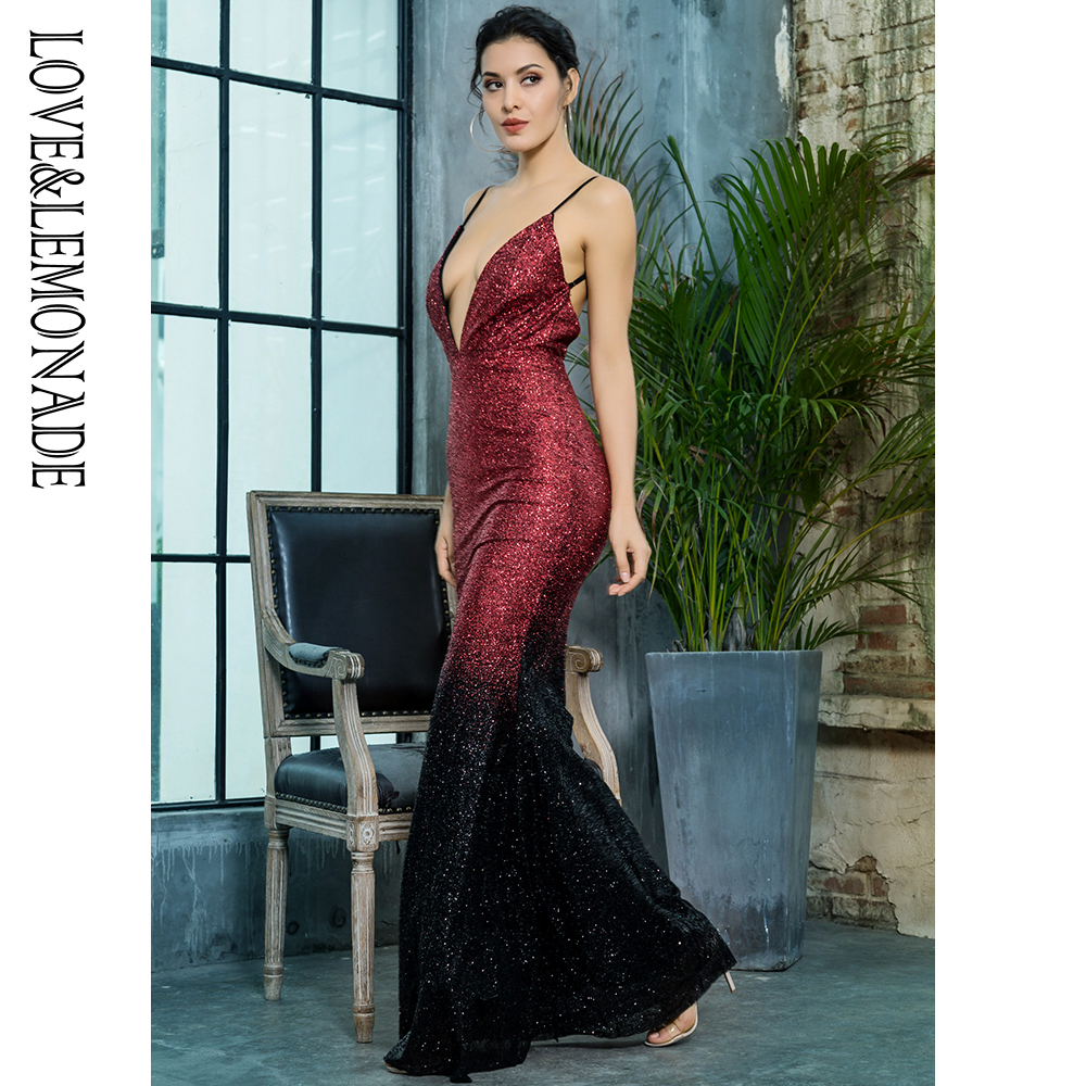 carta Amoreamp; Nera Partito Scollo Spalla Lm80386 Profondo Di Vestito A Limonata Rosso V Da zVSqUMp