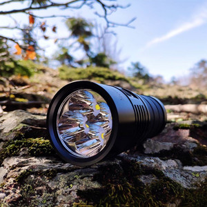 Image 3 - Sofirn BLF SP36 4*XPL2 6000LM Powerful LED Flashlight USB Rechargeable 18650 Multiple Operation Super Bright Torch Narsilm V1.2