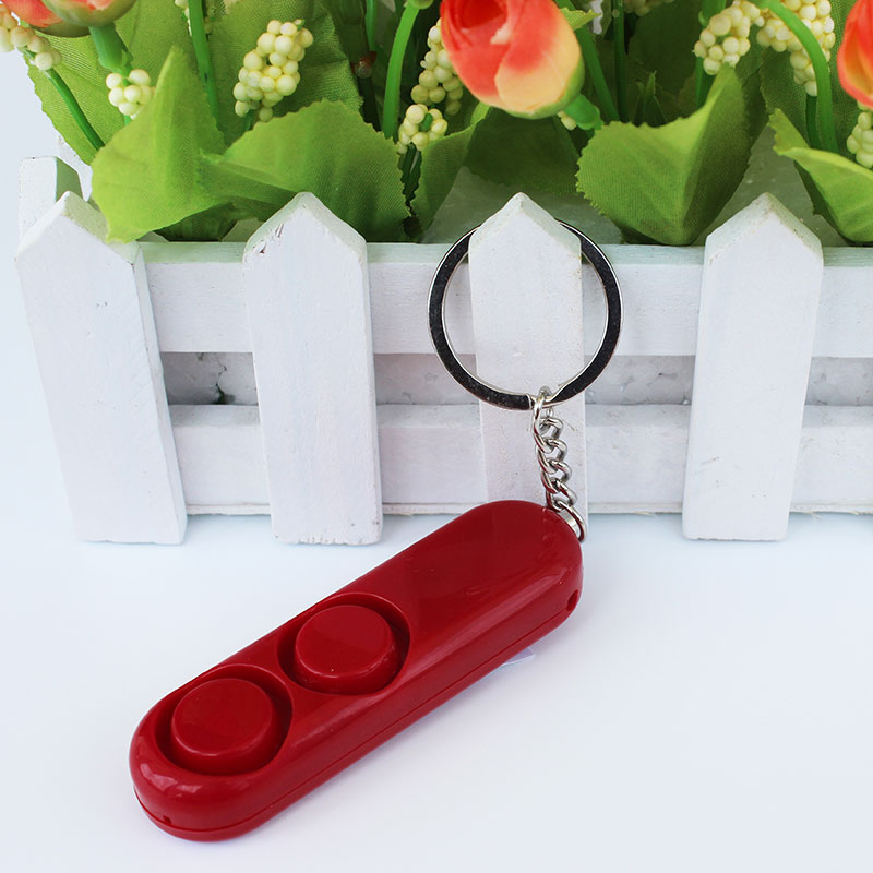 Anti-rape Alarm Loud Alert Attack Panic Keychain Personal Security Device JLRL88