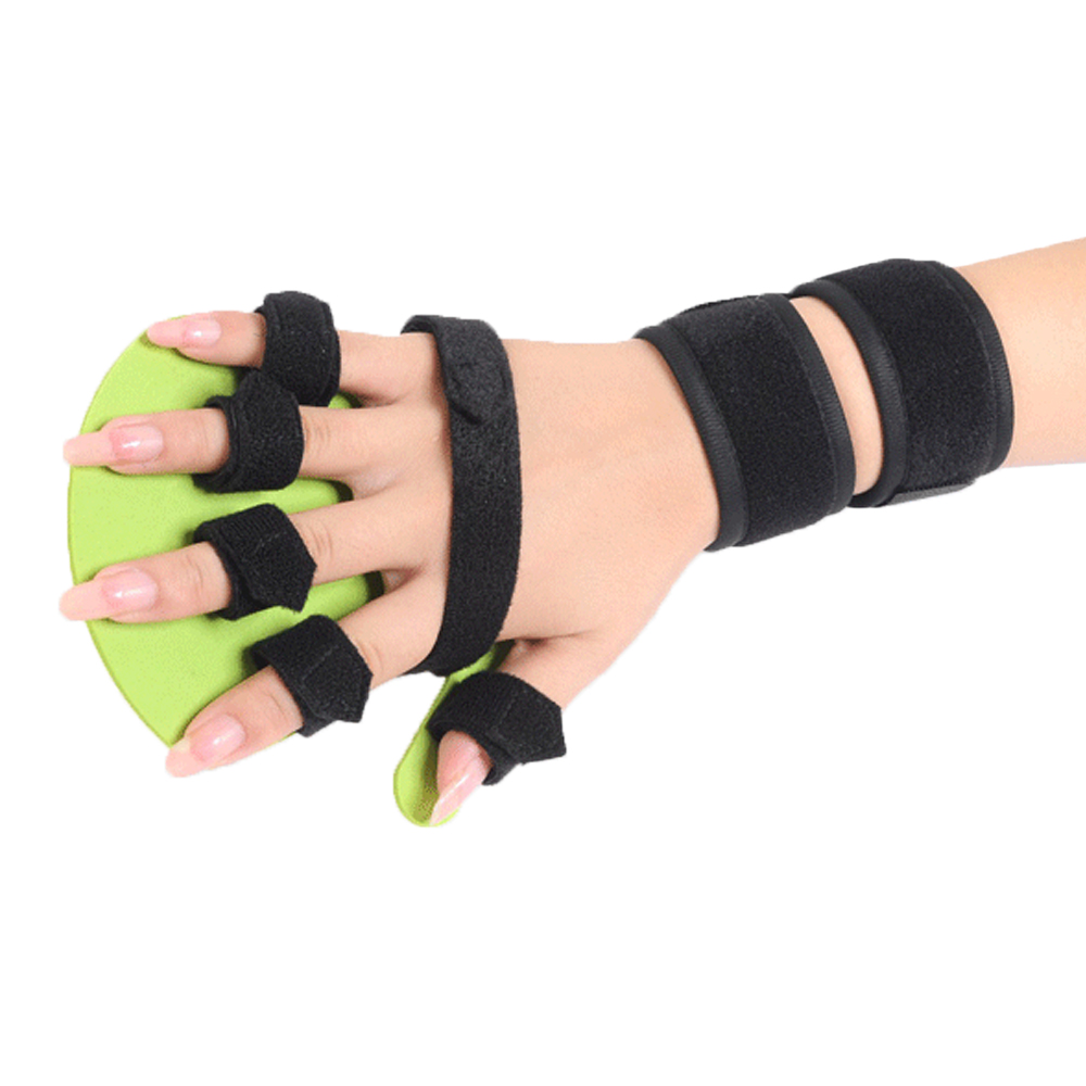Hand Wrist Orthosis Separate Finger Flex Spasm Extension Board Splint Apoplexy Hemiplegia Right Left Men Women tri fidget hand spinner triangle metal finger focus toy adhd autism kids adult toys finger spinner toys gags