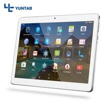 ¡ Venta caliente!! Yuntab K107 3g tablets PC Android5.1 pantalla táctil 1280*800 Construido con Ranuras Para Tarjetas de Doble Cámara de Doble Sim 4500 mAh de la batería
