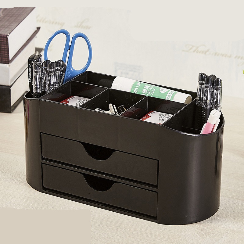 Pen Holders Multi-function Stationery Holder Desk Stationery Storage Desk Accessories Organizer Office School Supplies