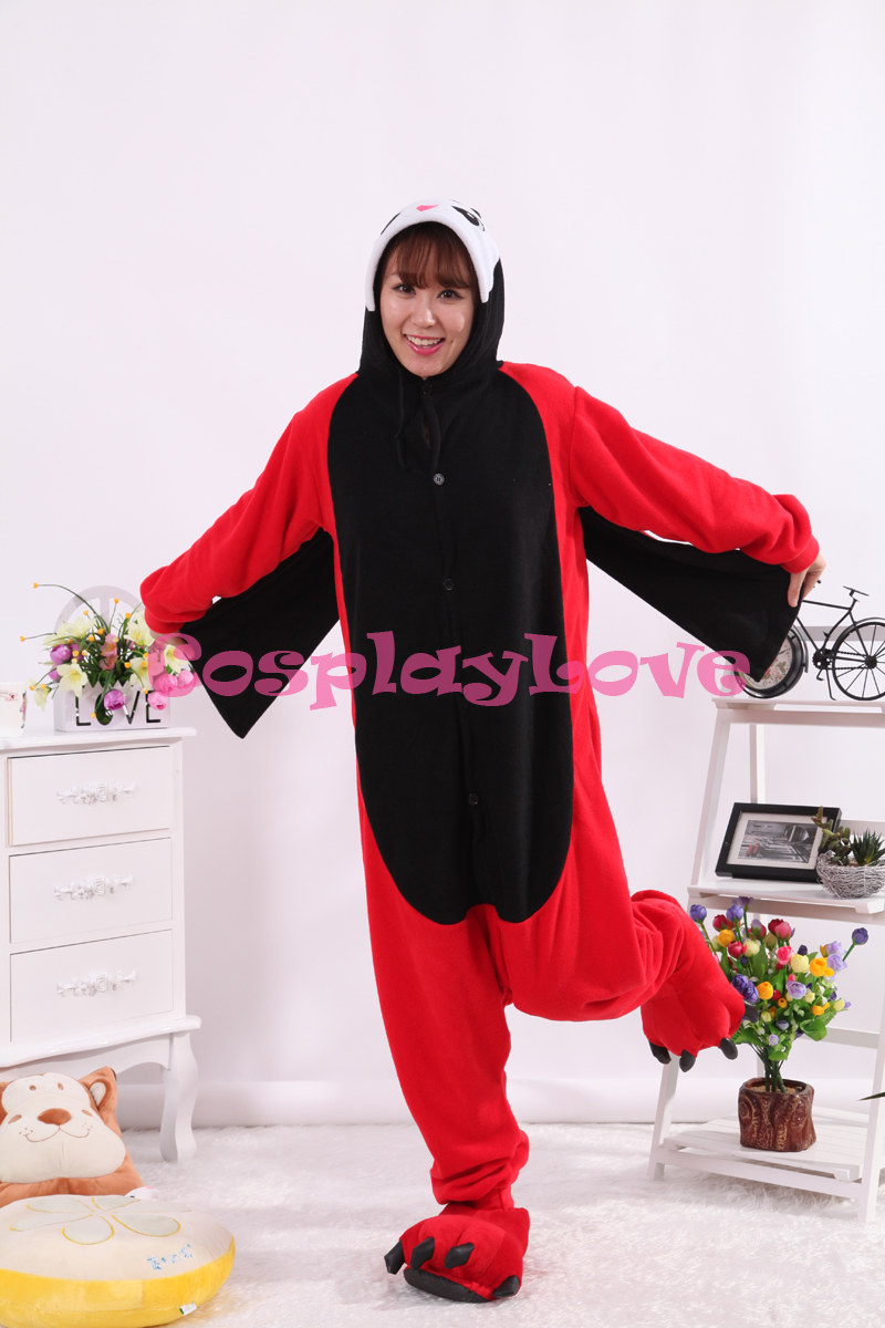 Ladybug Pajamas Animal Cosplay Costume Coral Women Men Kid Adult Pajamas Onesies Cartoon Halloween Sleepwear Sleepsuit