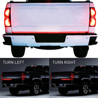 KEEN 60 Red White Tailgate LED Strip Light Bar Reverse Brake Turn Signal Tail For Ford
