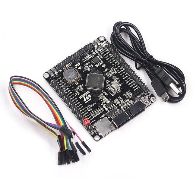 Free shipping STM32F407VET6 development board Cortex-M4 STM32 minimum system learning board ARM core board