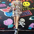 2016 Time-limited Sale Computer Knitted Poncho Brand Fox Doll Mixed Color Coarse Needle Sweater Female Pullovers Women Sweaters