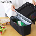 Lunch Bags Cooler Insulated Lunch Bags Box For Women Men Thermal Shoulder Bag Food Picnic Bags Tote Wash Mesh Handbags #228699