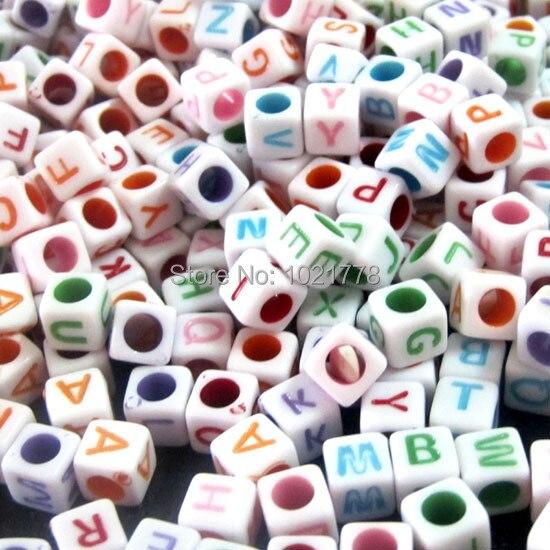 Envío Gratis 1000 Uds mezcla de alfabeto