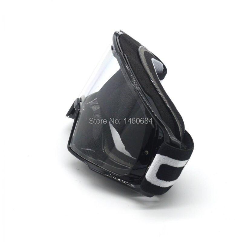 Motorcycle Transparent Glasses OCULOS DE MOTOCROSS Capacete Moto mx Goggles fit for Cross Helmet Google Clear Lens