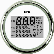 Car Truck Motor Auto GPS Speedometer 9-32V Waterproof Stainless steel Digital Gauges free shipping